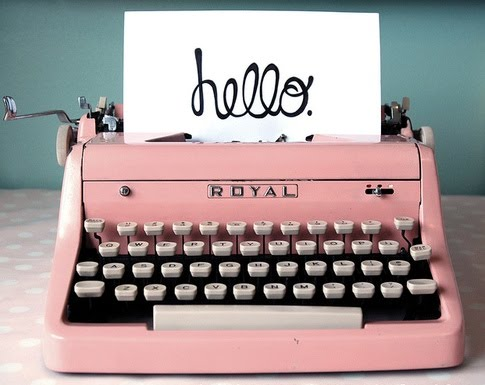 hello typewriter via we heart it